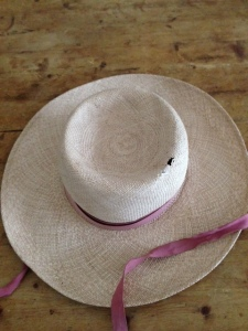 Greek Straw Hat