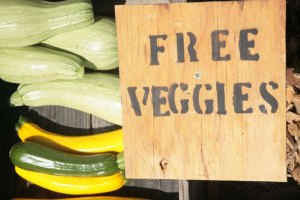 free veggies